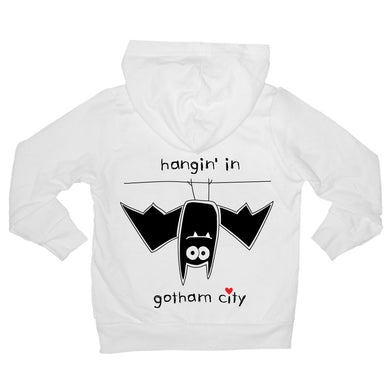 Bugged Out bat baby hoodie