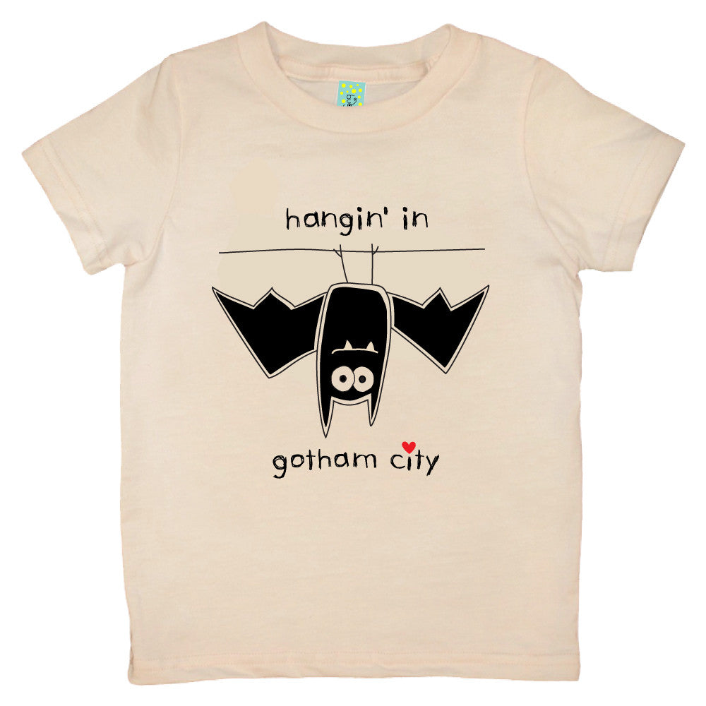 Bugged Out bat short sleeve kids t-shirt