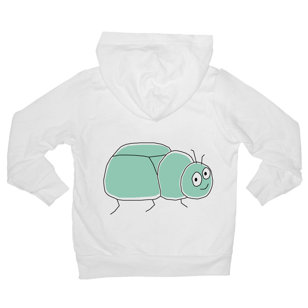 Bugged Out beetle baby hoodie