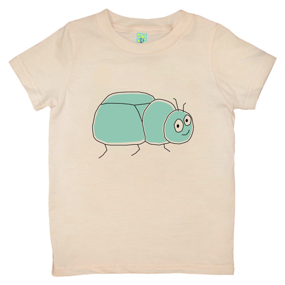 Bugged Out beetle short sleeve kids t-shirt