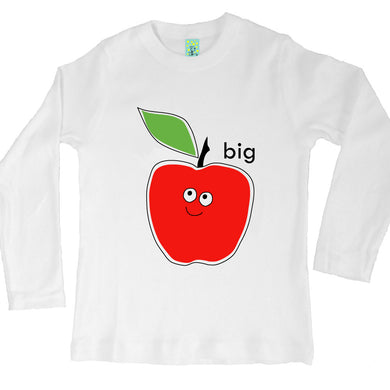 Bugged Out big apple long sleeve kids t-shirt