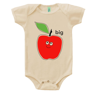 Bugged Out big apple short sleeve baby onesie