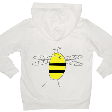 Bugged Out bumblebee kids hoodie