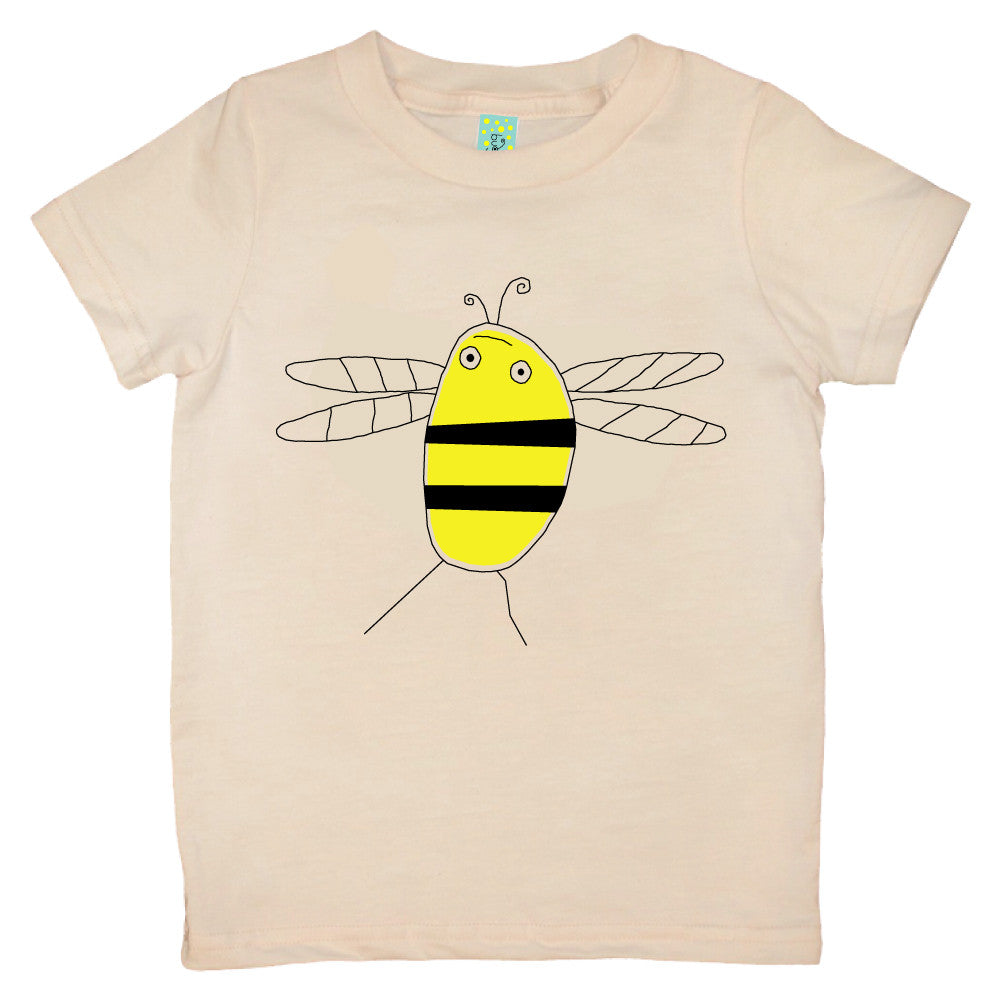 Bugged Out bumblebee short sleeve kids t-shirt
