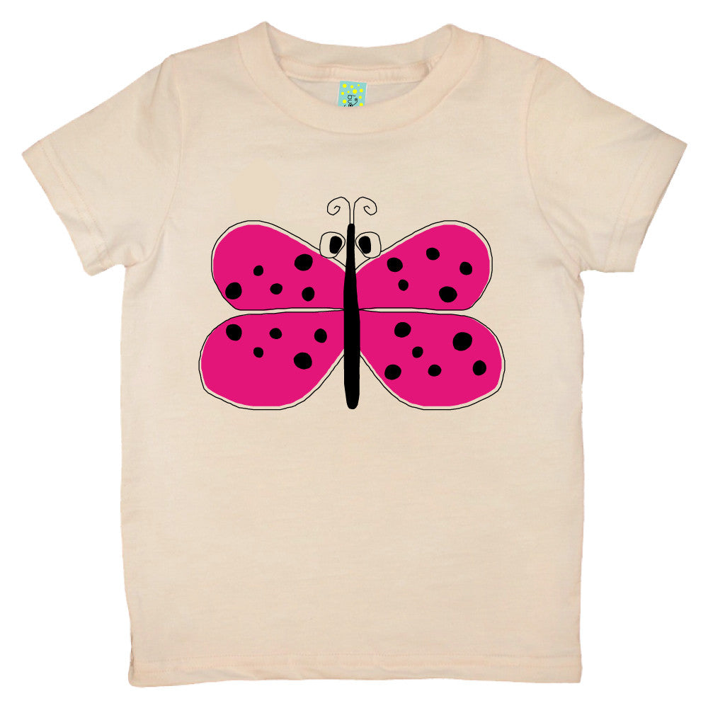 Bugged Out butterfly short sleeve kids t-shirt
