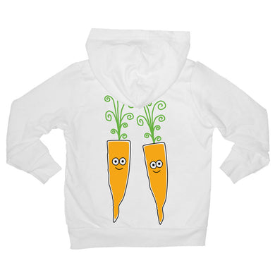 Bugged Out carrot baby hoodie