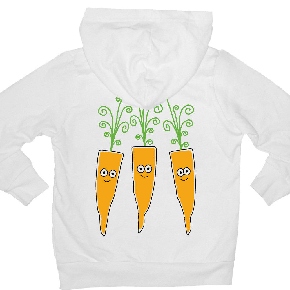 Bugged Out carrot kids hoodie