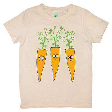 Bugged Out carrot short sleeve kids t-shirt