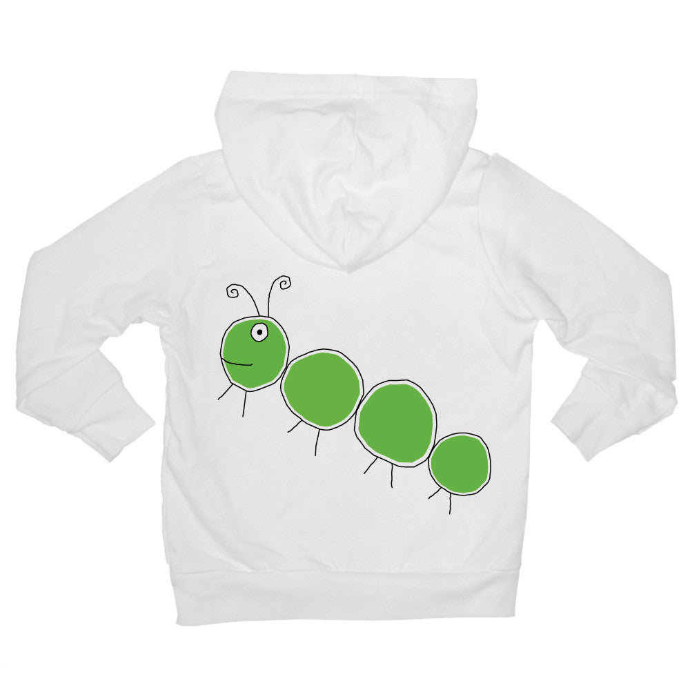 Bugged Out caterpillar baby hoodie