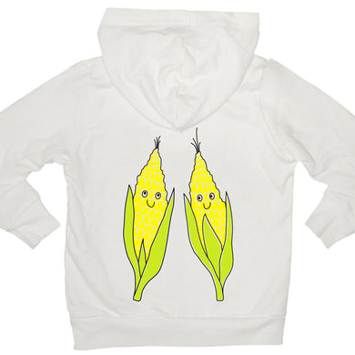 Bugged Out corn kids hoodie