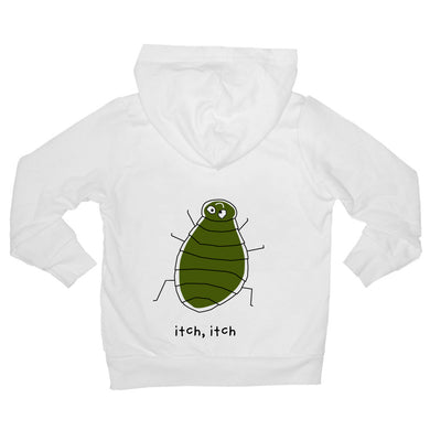 Bugged Out flea baby hoodie