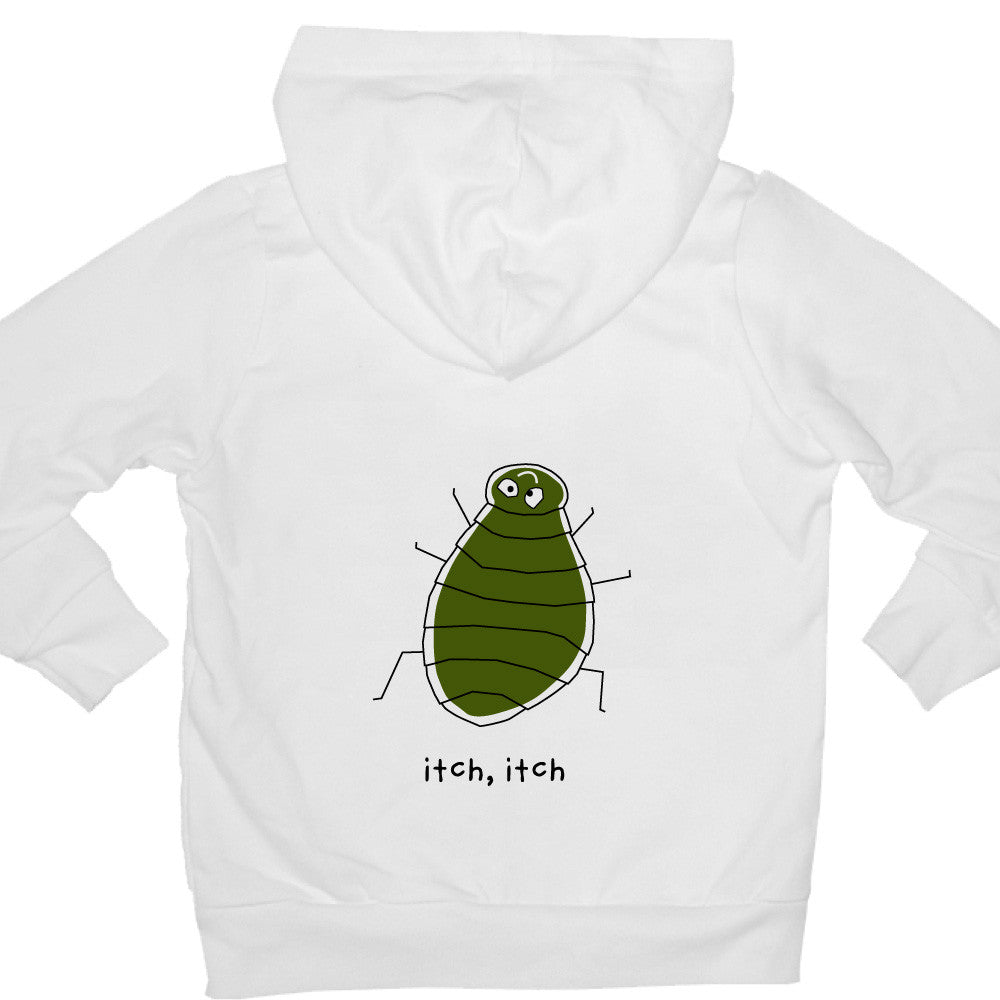 Bugged Out flea kids hoodie