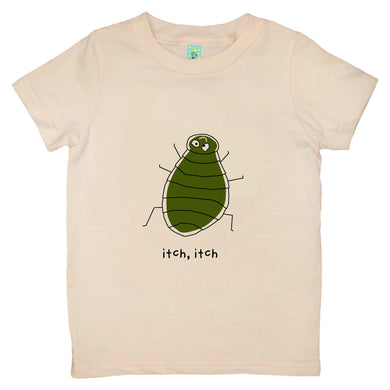 Bugged Out flea short sleeve kids t-shirt