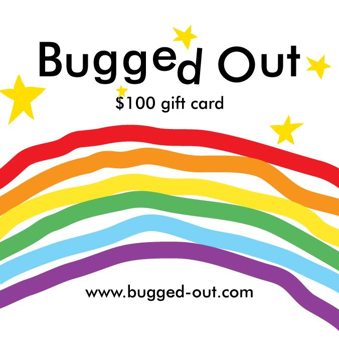 Bugged Out gift card - $100