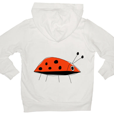 Bugged Out ladybug kids hoodie