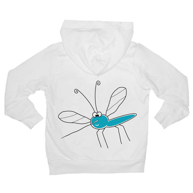 Bugged Out mosquito baby hoodie