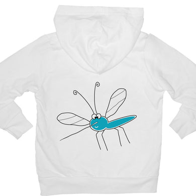Bugged Out mosquito kids hoodie
