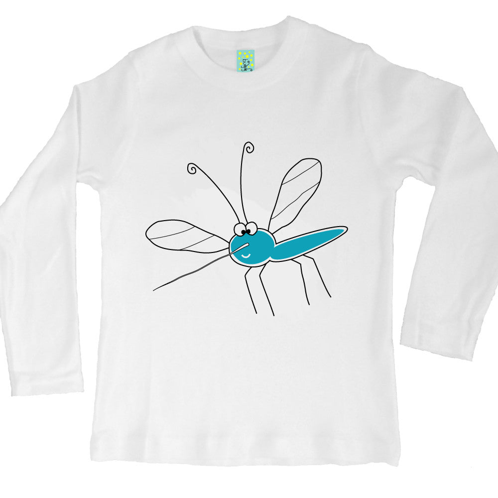 Bugged Out mosquito long sleeve kids t-shirt