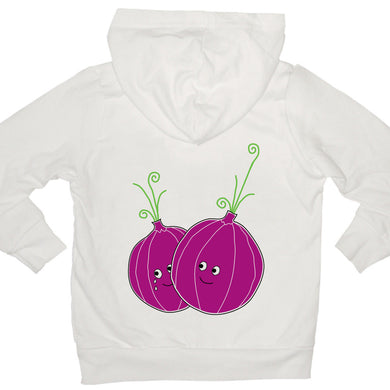 Bugged Out onion kids hoodie