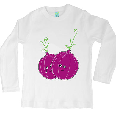 Bugged Out onion long sleeve kids t-shirt
