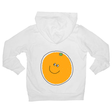Bugged Out orange baby hoodie