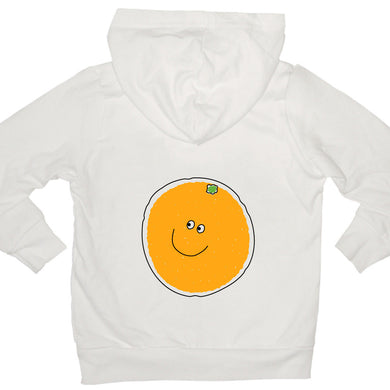 Bugged Out orange kids hoodie