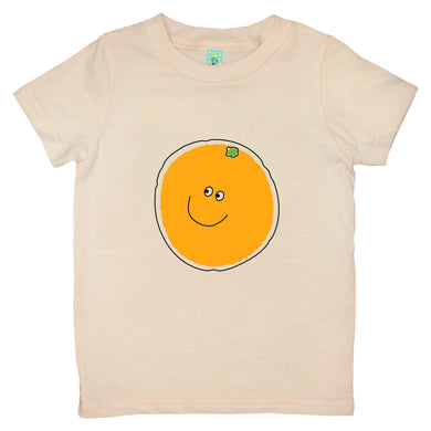 Bugged Out orange short sleeve kids t-shirt