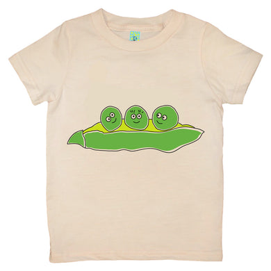 Bugged Out pea short sleeve kids t-shirt