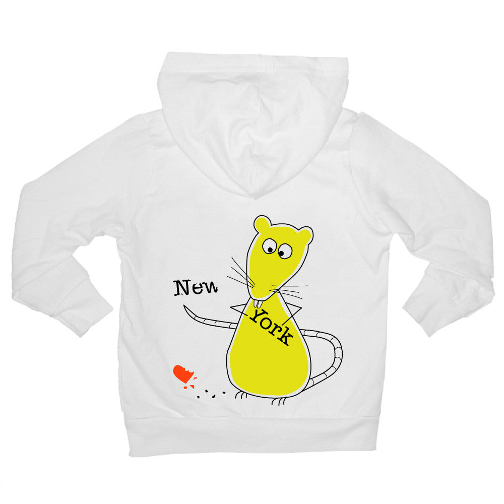Bugged Out rat baby hoodie