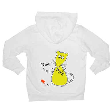 Bugged Out rat kids hoodie