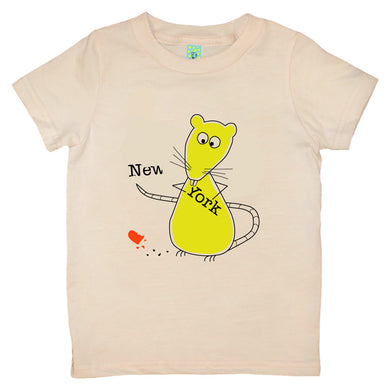 Bugged Out rat short sleeve kids t-shirt