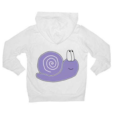 Bugged Out snail baby hoodie