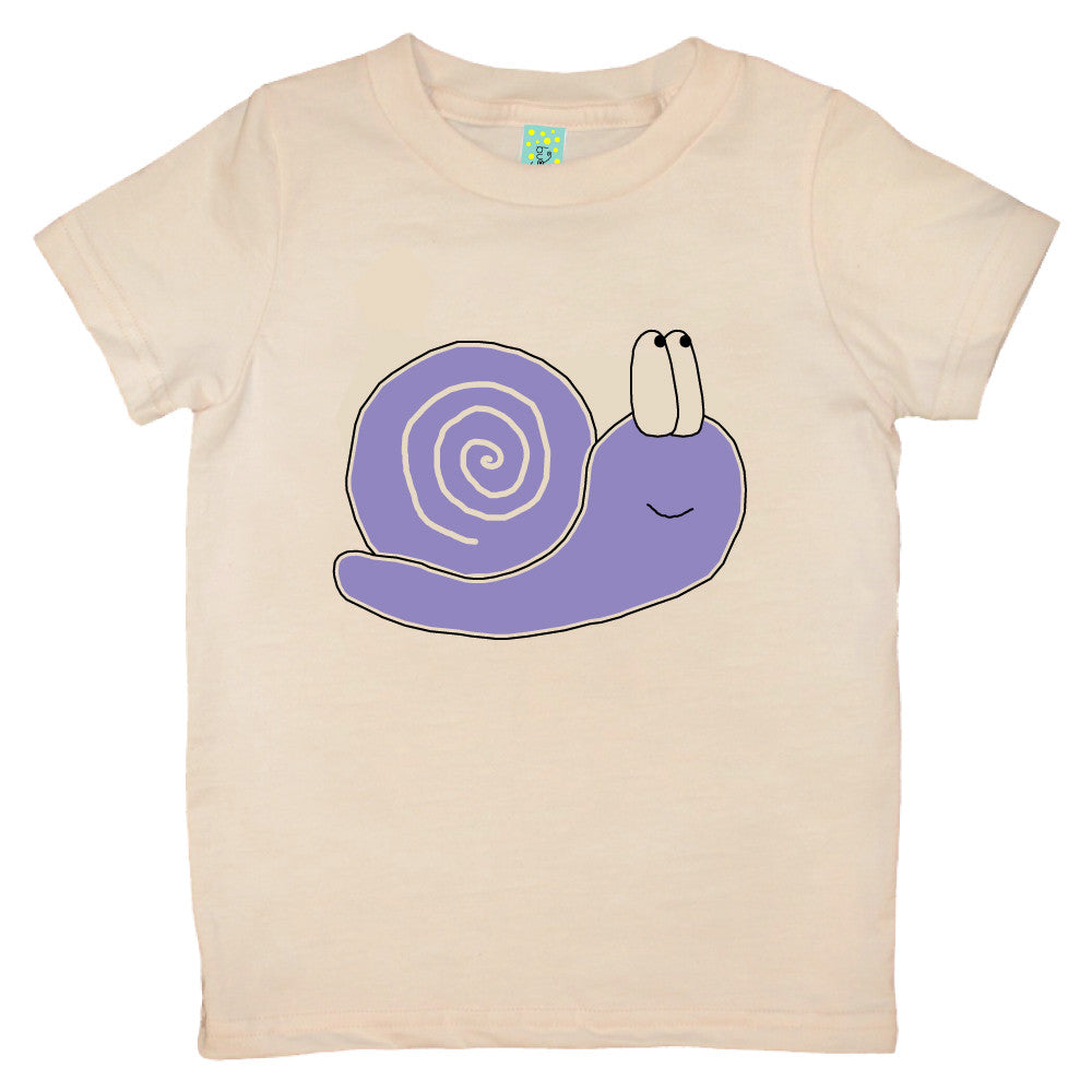 Bugged Out snail short sleeve kids t-shirt