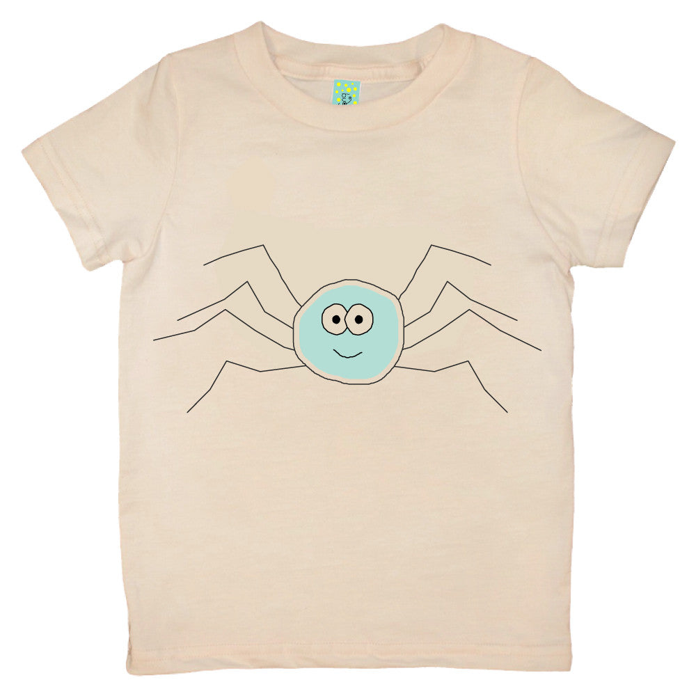 Bugged Out spider short sleeve kids t-shirt