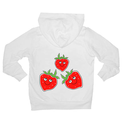 Bugged Out strawberry baby hoodie