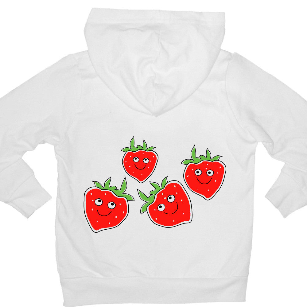 Bugged Out strawberry kids hoodie
