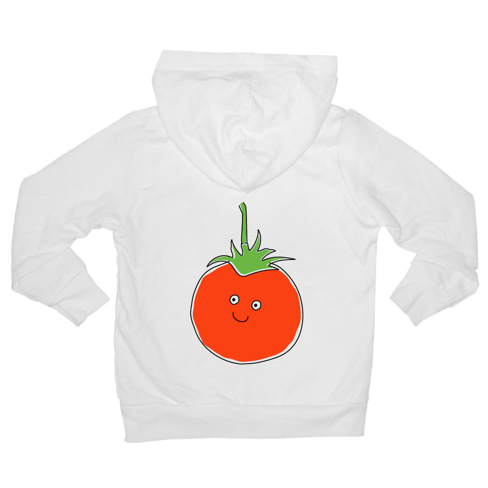 Bugged Out tomato baby hoodie