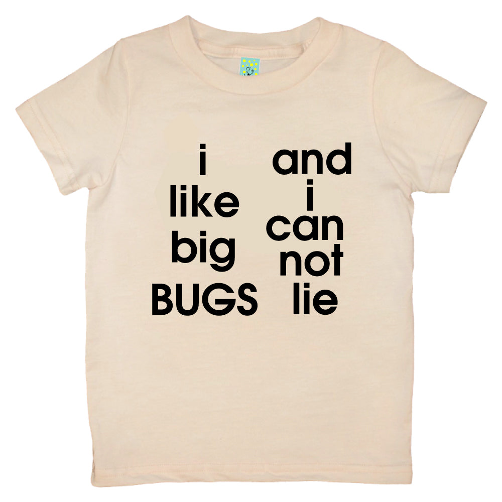 Bugged Out i like big bugs and i can not lie short sleeve kids t-shirt