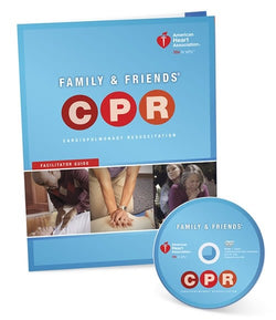 Family & Friends CPR DVD with Facilitator Guide
