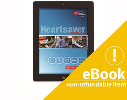 eBook version Heartsaver First Aid  Student Manual 2015