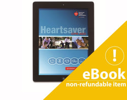 eBook Version Heartsaver CPR AED  Student Manual 2015