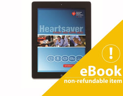 eBook Version Heartsaver First Aid CPR  AED Student Manual 2015