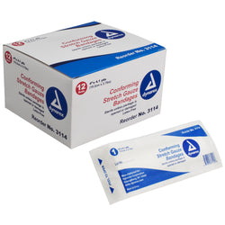 Stretch Gauze Bandage Roll - Sterile