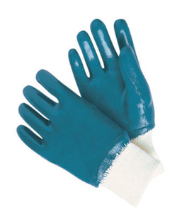Large Heavy Weight Nitrile Fully Coated Jersey Lined Work Glove