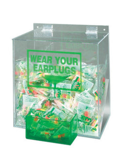 Large Earplug Dispenser (Earplugs Sold Separately)