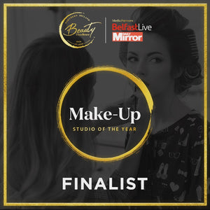 I'M A FINALIST - NI BEAUTY EXCELLENCE AWARDS