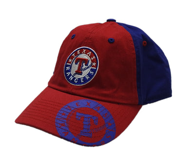 Fan Favorite Mens One Size Adjustable Strap Hat Texas Rangers Baseball MLB Cap