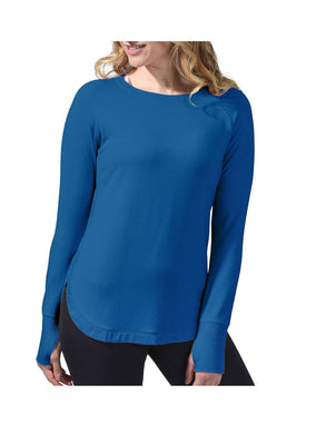 Active Life Womens L/S Pullover Modal Top