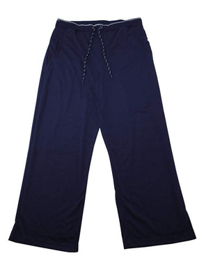 Greg Norman Mens Size X-Large (37-39) Luxe Knit Lounge Pants, Navy