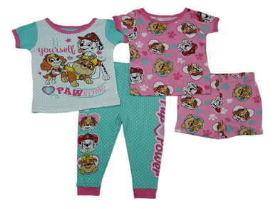 AME Baby Girls Paw Patrol 2- Cotton Pajama Set, Assorted